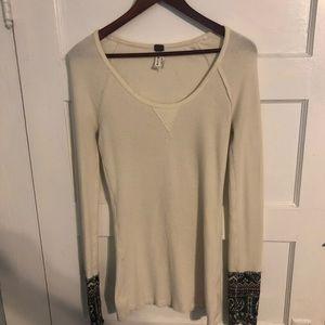 Free People long sleeve knit top